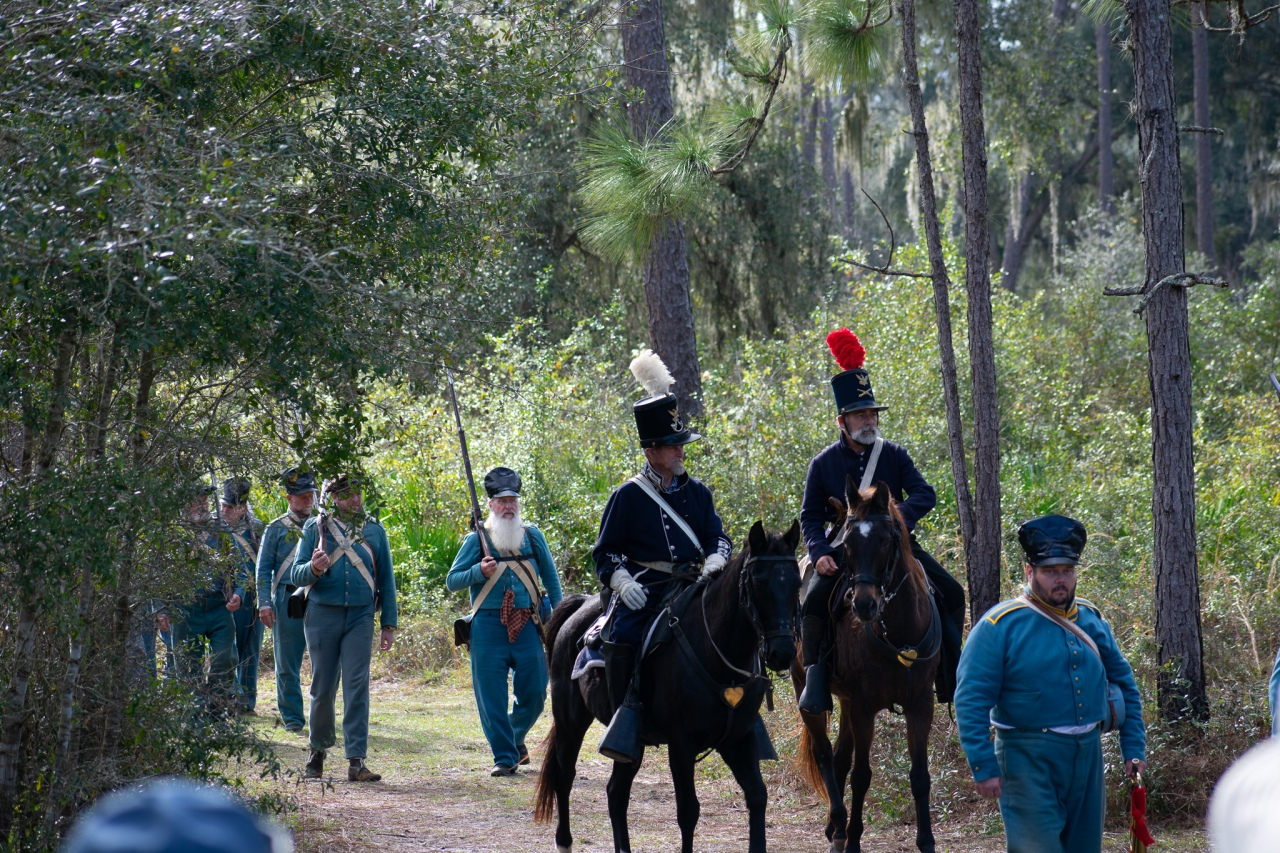 Dade's Battle of 1835 (Reenactment)​