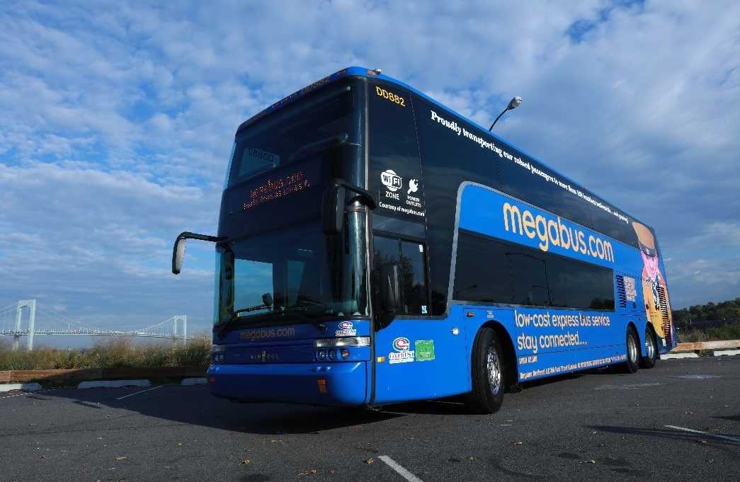 First Time Using Mega Bus (Review)